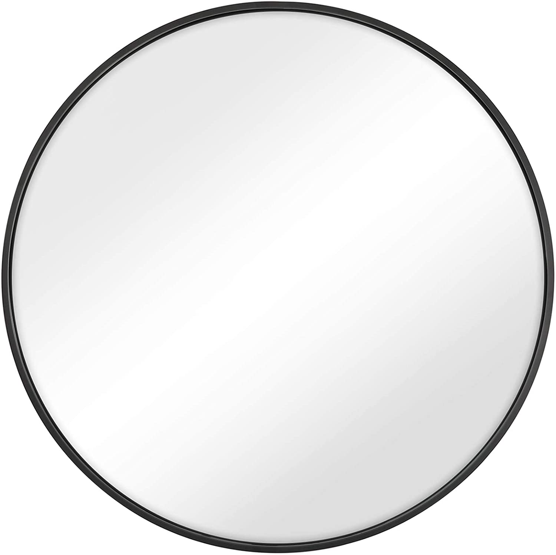 SONGMICS Round Wall Mirror Ranking TOP8 Nashville-Davidson Mall 24-Inch Decorative Circle Di