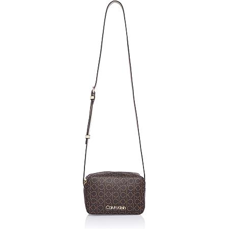 Calvin Klein Camera Bag Brown Mono Mix
