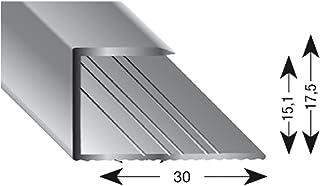 kügele gleitabsc hluss Perfil U aluminio Arena anodizado 15