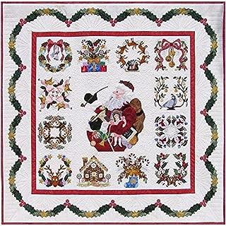 P3 Designs Baltimore Christmas BOM Block of Month Patterns Set