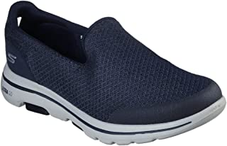 SKECHERS GO WALK 5 Mens Shoes, Grey (Charcoal), 8 UK (42.5 EU)