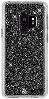 Case-Mate - Samsung Galaxy S9 Case - SHEER CRYSTAL - Sparkle Effect - Protective Design - Clear