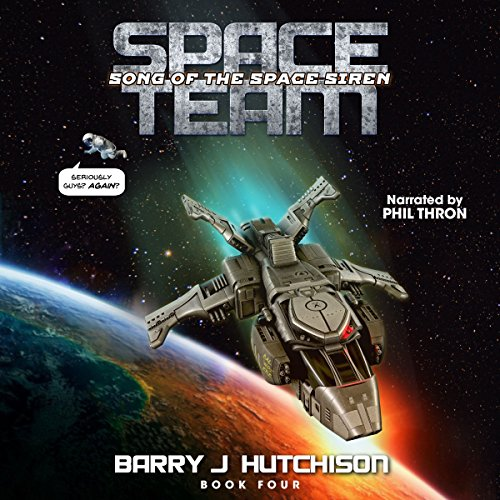 Space Team: Song of the Space Siren audiobook cover art