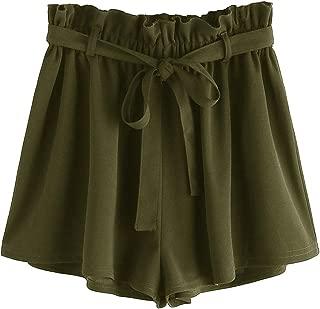 Women's Casual Elastic Waist Summer Shorts Jersey Walking Shorts