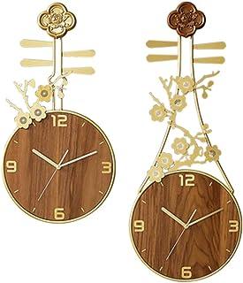 Zacheril Reloj De Pared De Números Reloj de Pared Living Room Ideas Inicio Relojes Personalidad artística Reloj Nuevo Chin...