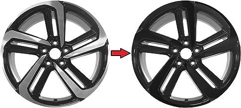 کروم حذف پوشش سیاه وینیل برای 2018-2021 هوندا آکورد سدان 19 اینچی چرخ های ورزشی (1. براق مشکی)