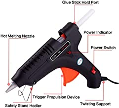 MHK Leak Proof 100 Watt With 5 Sticks Heavy Standard Temperature Corded Glue Gun (11 mm) Standard Temperature Corded Glue Gun