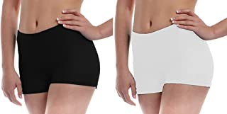 Fraulein Women's Girls Mini Shorts_Spandex Safety Shorts Tights Inner Wear_Underdress Shorts for School Girls & Young Ladi...