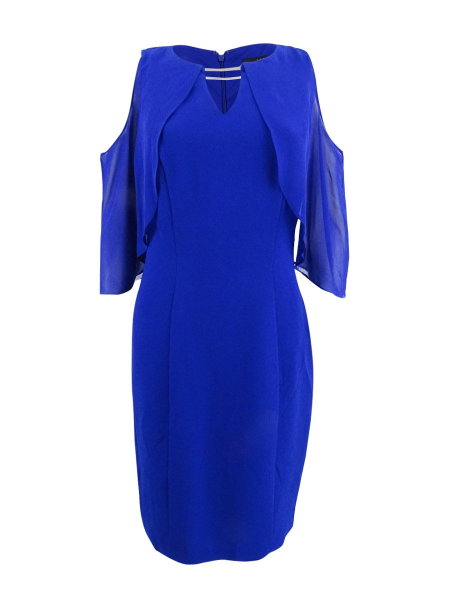 Available at Amazon: Sangria Women's Flutter Flyaway Sheath Dress