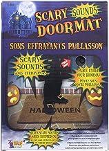 Black Halloween 1 X Pressure Sensitive Screaming Doormat Decoration Battery