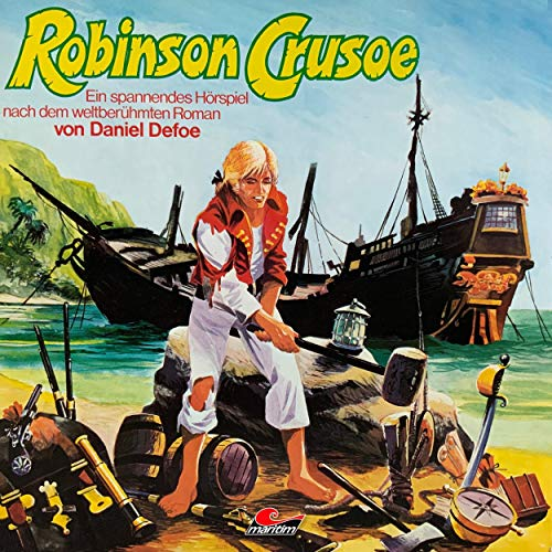 『Robinson Crusoe』のカバーアート