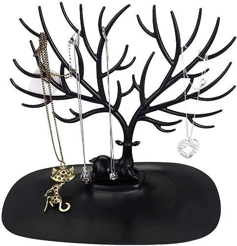 SYGA Creative Deer Shape Tree Jwellery Organizer Stand