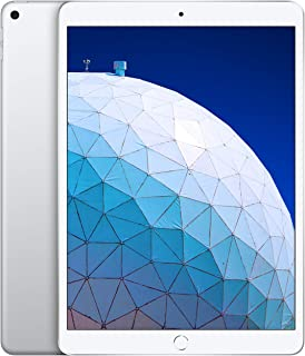 Apple iPad Air MUUK2 with Facetime -10.5-Inch, 64GB, WiFi, Silver