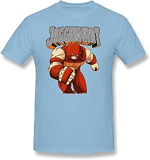 Merry Christmas Men's Marvel Strong Juggernaut Cotton Tee Shirts