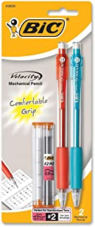 BIC Velocity Mechanical Pencil, Thick Point (0.9 mm), 2-Count
