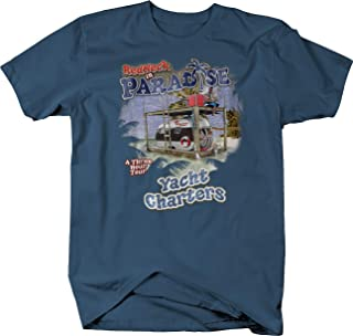Redneck in Paradise Yacht Charters Airstream Fishing Beer Relax Tshirt