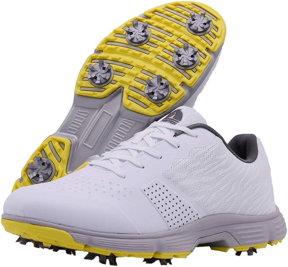 Nashville-Davidson Mall Zakey Professional Waterproof Golf Shoes online shop Men Sneaker Spikes