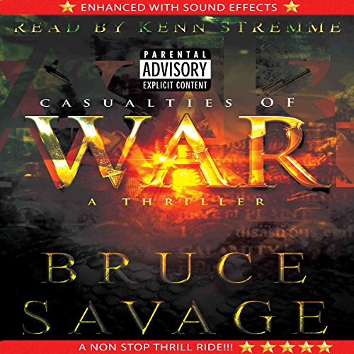 Casualties of War audiobook cover art