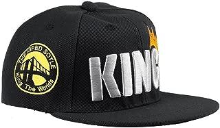 Infant & Toddler Hip Hop Snapback Flat Brim Hats Lettre King Cap