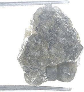 Kakadiya Group 8.40 Ct Real Genuine Natural Rough Loose Diamond Grayish Color For Jewelry