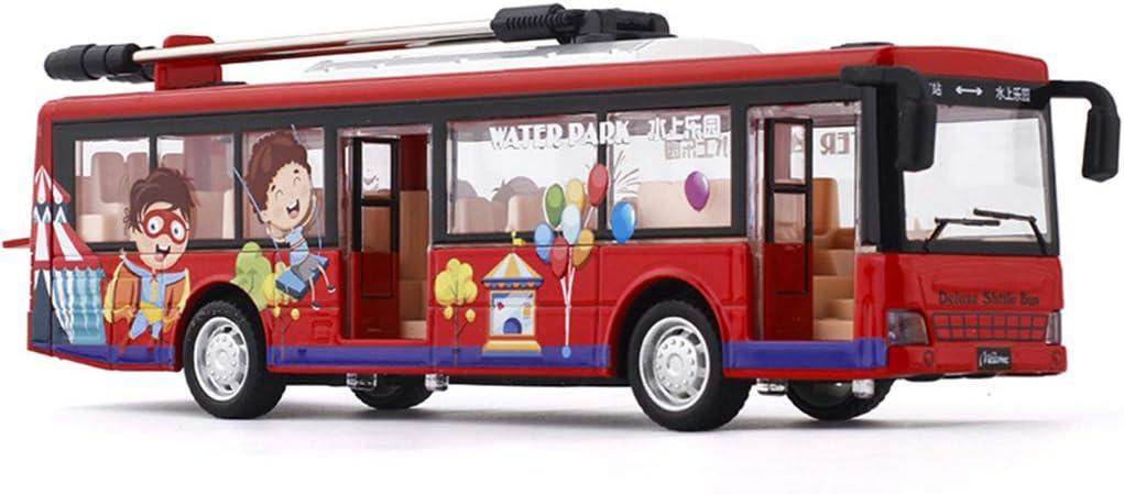 Alloy Max 63% OFF Casing Voice Broadcast Tram Open Lights Mode Cool Discount is also underway Door Bus