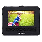 WONNIE Car Headrest Mount Holder for Portable DVD Player Sylvania RCA and other 7' portable DVD players