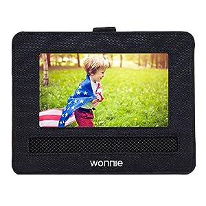 wonnie coche soporte para reposacabezas de coche para reproductor de DVD portátil para wonnie Sylvania RCA y otros 7