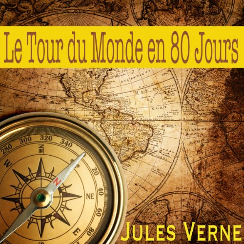 Le tour du monde en 80 jours  audiobook cover art