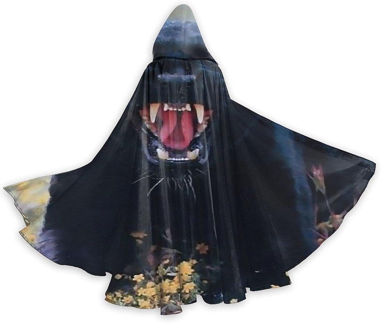 Halloween Cloak Cape Fierce Panther Black Cat Gifts Trust Co