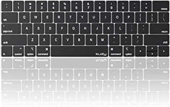 Kuzy – MacBook Pro Keyboard Cover with Touch Bar for 13 and 15 inch 2019 2018 2017..
