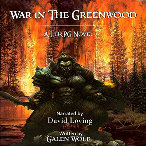 War in the Greenwood audiobook cover art