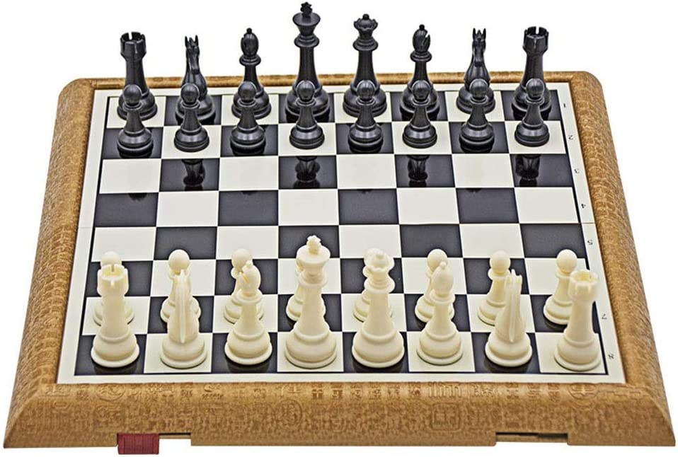 wholesale LOMJK Chess Set Magnetic Plastic Folding P Board Max 79% OFF