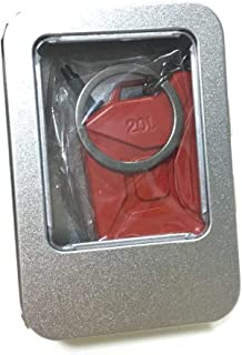 Pubg Keychain Game Playerunknown Battlegrounds Key Rings Charm Souvenir Birthday Gifts -Red Oil Bucket