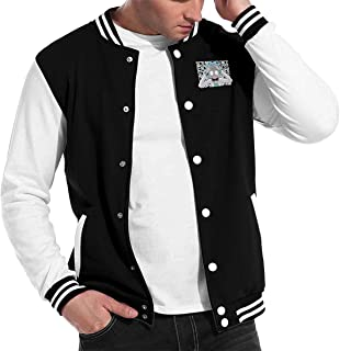 Rick N Morty Men's Letterman Jacket Outerwear