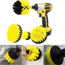 Power Scrubber Brush Set for Bathroom | Drill Scrubber Brush for Cleaning Cordless Drill Attachment Kit Power Scrub Brush Combo Tool Kit(4 Pack)