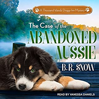 The Case of the Abandoned Aussie audiobook cover art