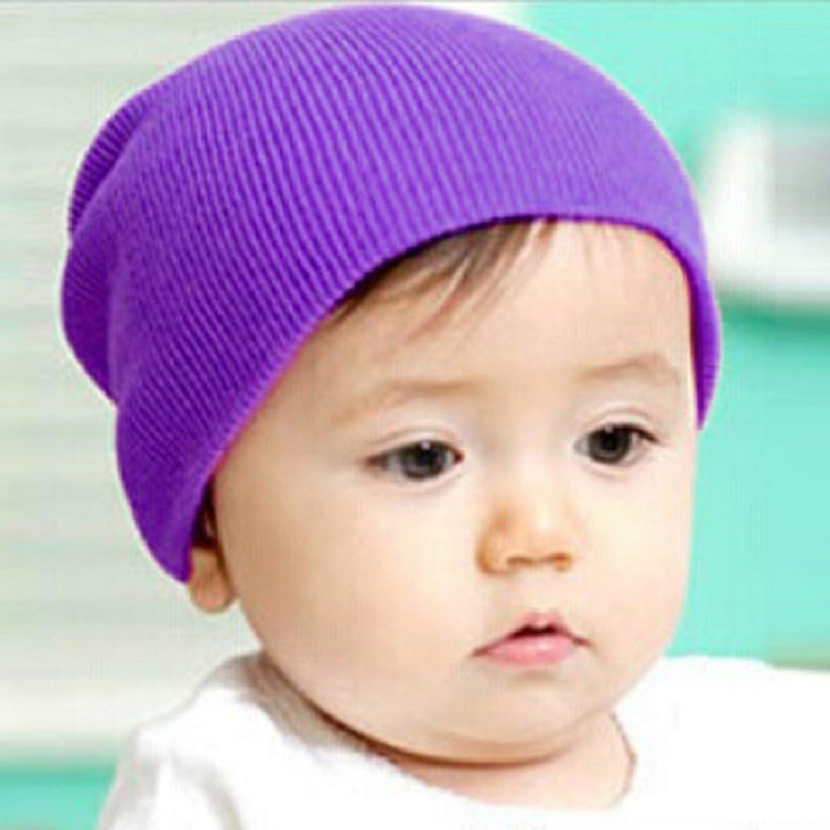 Amison Baby Beanie Boy Girls Soft Hat Children Winter Warm Kids Cap
