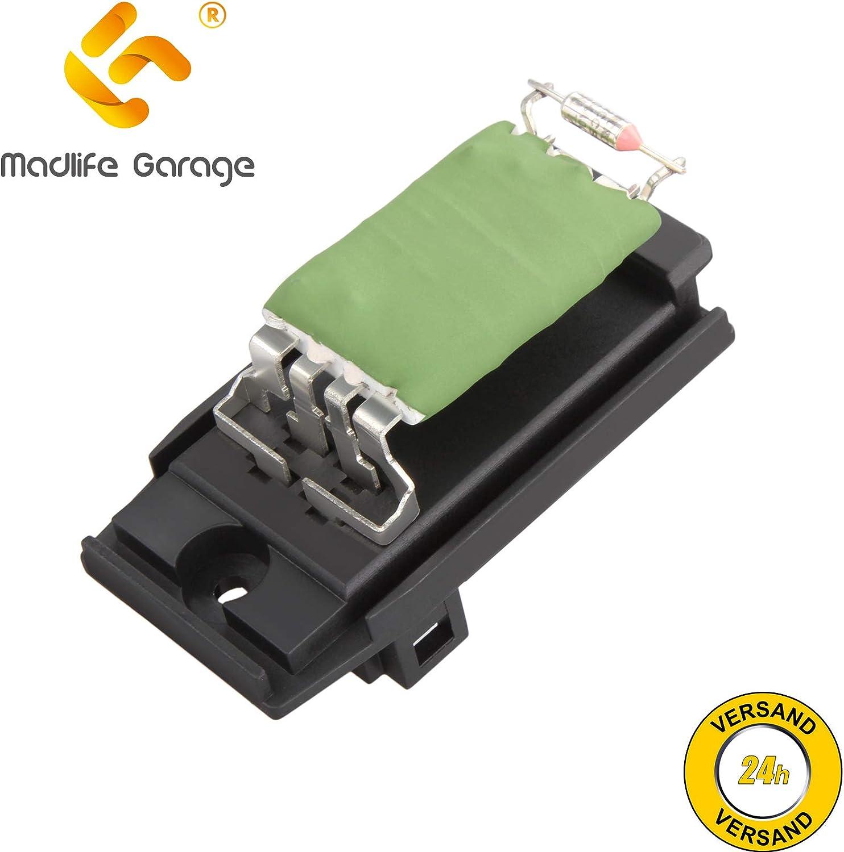 Madlife Garage 1311115 - Resistencia para ventilador de calefacción