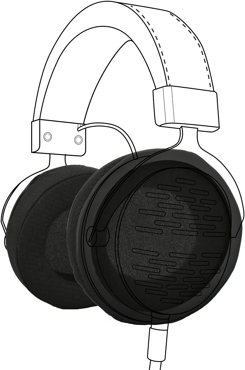 Earpadz Replacement for El Paso Mall outlet Beyerdynamic DT990 DT770 Pr One Custom