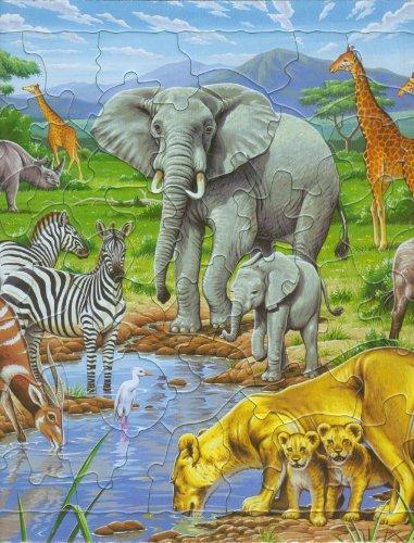 Desconocido Larsen FH9 Animales de la Sabana - Puzzle (65 Piezas)