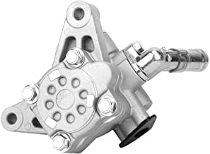 Qiilu 21-5290 56110P8EA01 Aluminum Power Steering Pump Compatible with 01-03 Acura CL, 01-02 Acura MDX, 99-03 Acura TL, 03-04 Honda Pilot