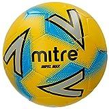 Mitre Impel Max Ballon de Football Mixte Adulte, Jaune/Argent/Bleu, Taille 5