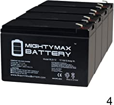 Mighty Max Battery 12V 9AH SLA Replacement Battery for HR-1234W-F2-4 Pack Brand Product