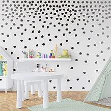 IARTTOP Black Irregular Dots Wall Decal Minimalist Geometric Decal for Kids Bedroom Classroom Decoration(240pcs Dots Sticker)