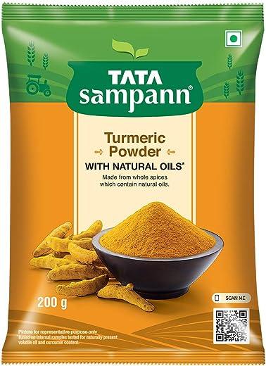 Tata Sampann Turmeric Powder Masala, 200g 1