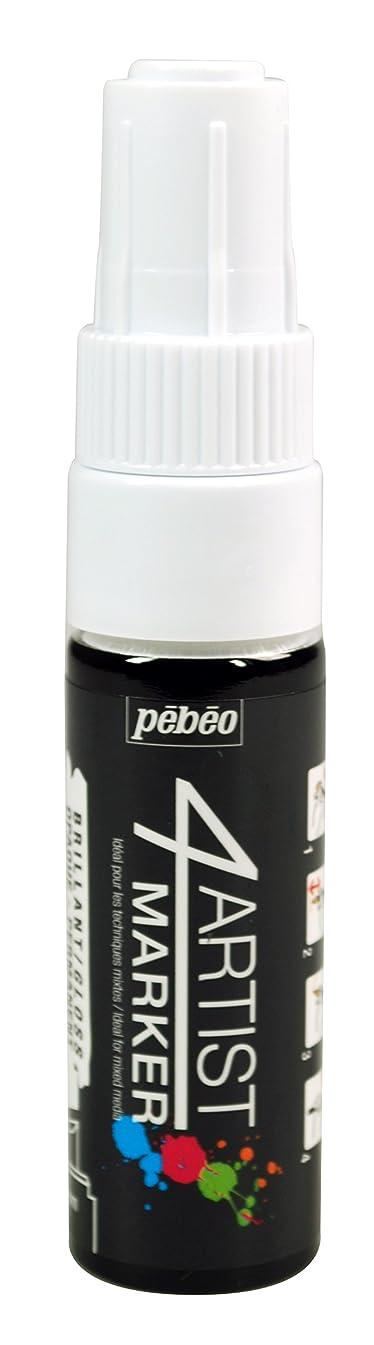 Pebeo 4Artist Marker, Oil Paint Marker, 8 mm - White