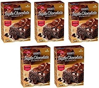 Betty Crocker's Hershey's Triple Chocolate Brownie Mix (20 oz., 4 pk.) (5 boxes)