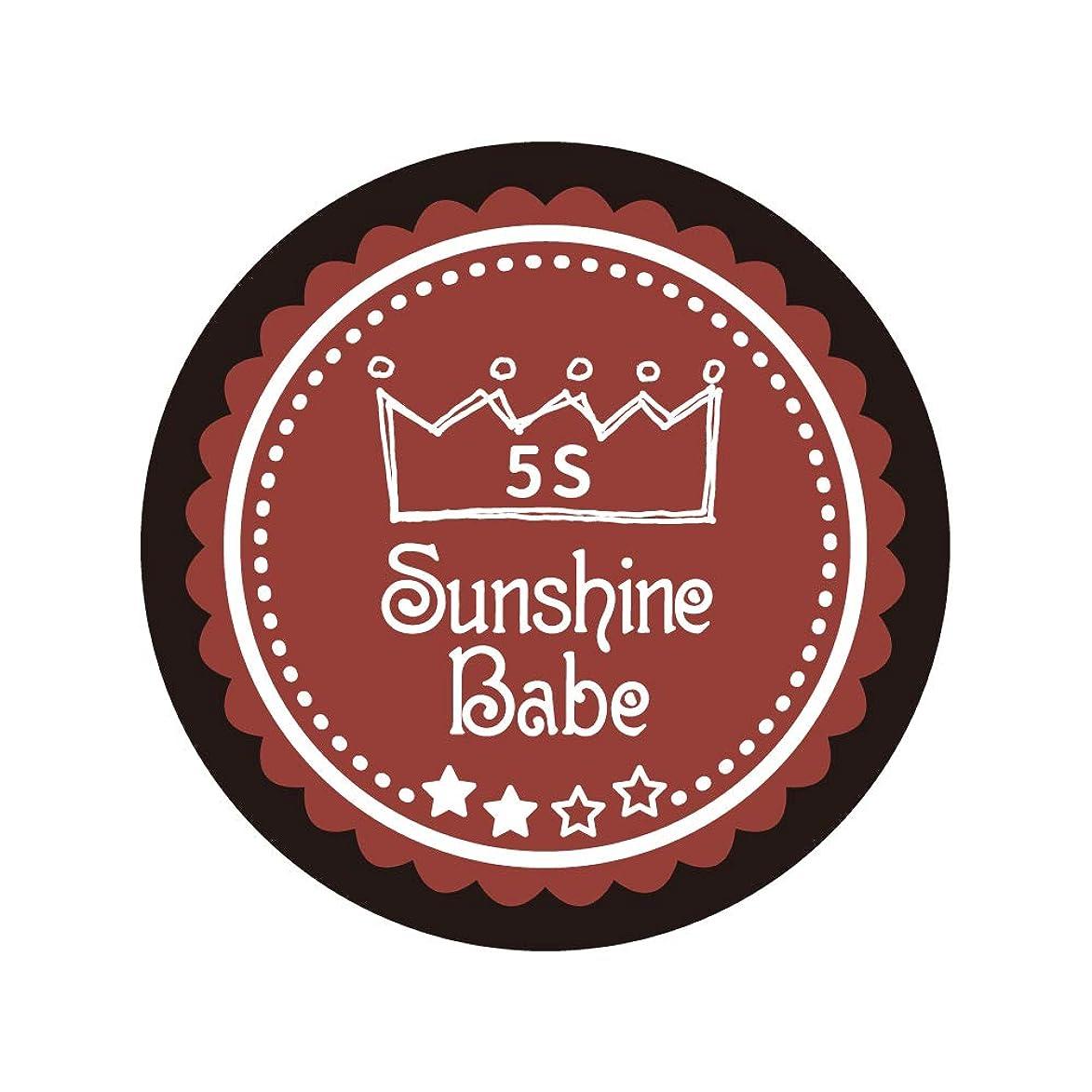 比較パール消すSunshine Babe カラージェル 5S チリオイル 2.7g UV/LED対応