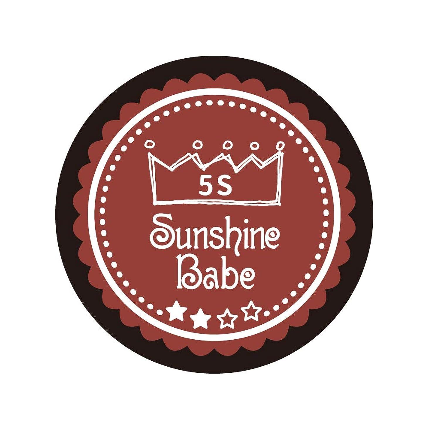 ためらう取り出す症状Sunshine Babe コスメティックカラー 5S チリオイル 4g UV/LED対応