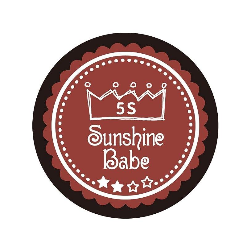 熱帯の設計チーズSunshine Babe コスメティックカラー 5S チリオイル 4g UV/LED対応